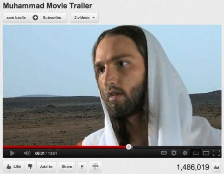 Innocence of muslims trailer really. agree