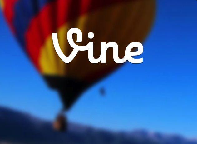 Il logo di Vine