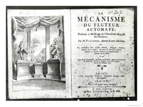 I meccanismi di Jacques de Vaucanson