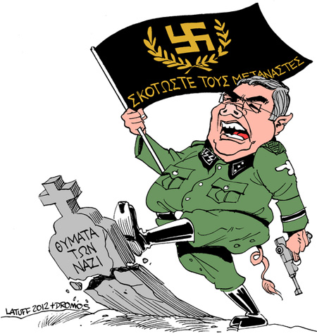 Latuff + Golden Dawn