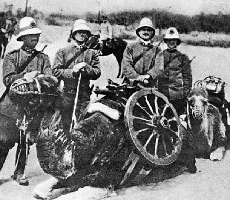 ArtiglieriaCammellataItaliana(Libia)1912