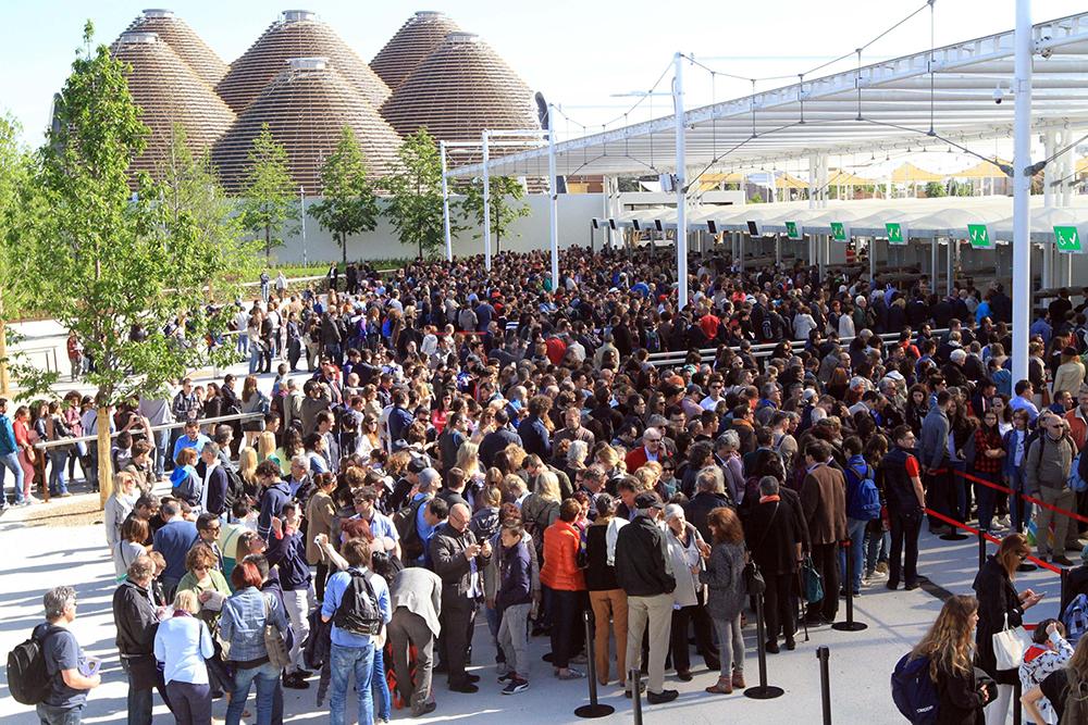 EXPO: NEL PRIMO WEEK END MEZZO MILIONE DI VISITATORI