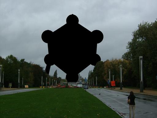 By Nro92 + Romaine (File:Atomium 010.jpg + Own work) [CC0], via Wikimedia Commons