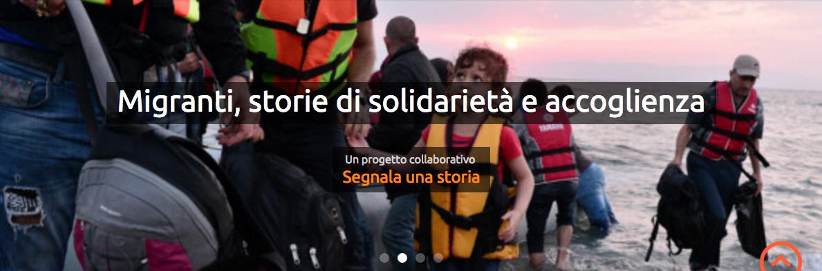 Migranti: storie di solidarietà e accoglienza