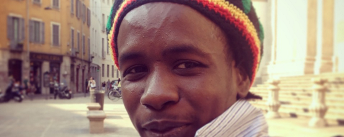 Bubacar dal Gambia all'Italia