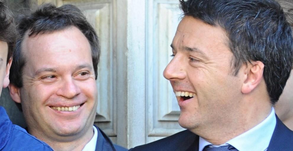 Marco Carrai e Matteo Renzi