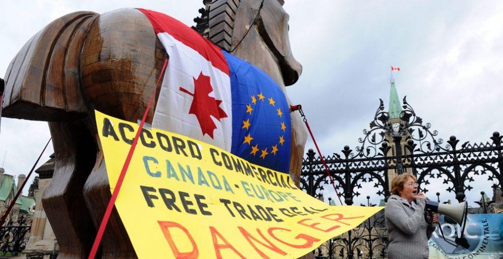 Accordo commerciale Europa-Canada apripista per favorire le multinazionali ovunque