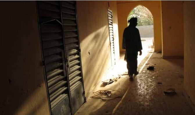 Uno degli edifici utilizzati come basi da al-Qaeda in Mali – Foto: Rukmini Callimachi/AP
