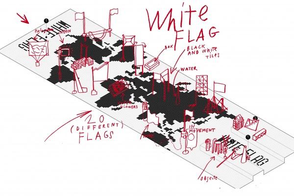 """White Flag"", Italia – via LondonDesignBiennale.com"