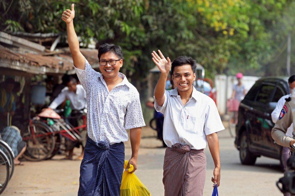 Myanmr, Reuters, giornalisti, freedom
