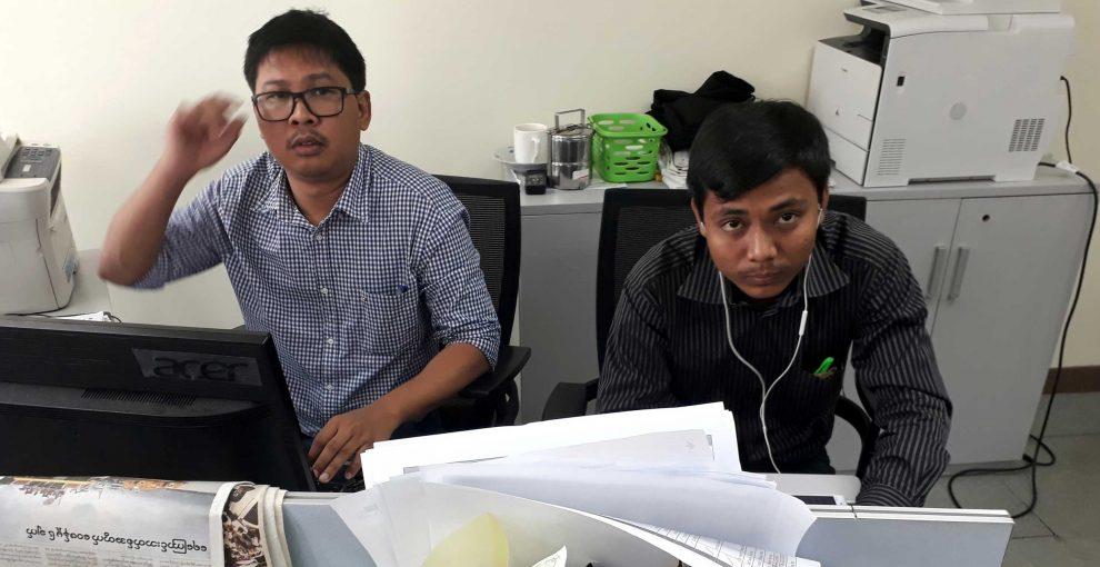 Myanmar: due giornalisti della Reuters arrestati per il loro scoop sul massacro di Inn Din
