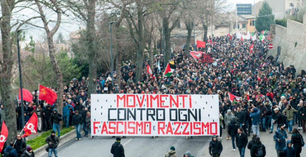 Macerata, il dibattito di questi giorni e la strada lunga e faticosa contro razzismo e fascismo