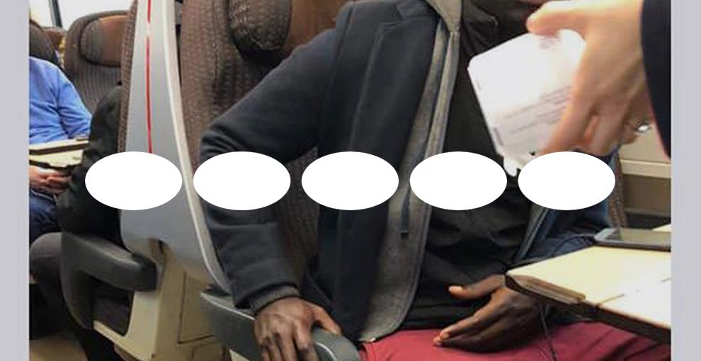Il ragazzo nero senza biglietto sul treno: la storia vera è il razzismo
