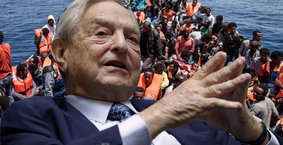 L'ossessione per Soros e la bufala della sostituzione etnica