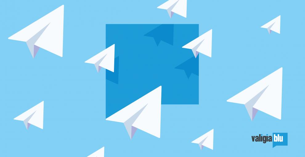 Valigia Blu è anche su Telegram