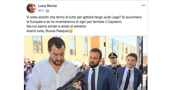 Le minacce dello spin doctor di Salvini: le parole di odio tollerate da Facebook (e dalla politica)