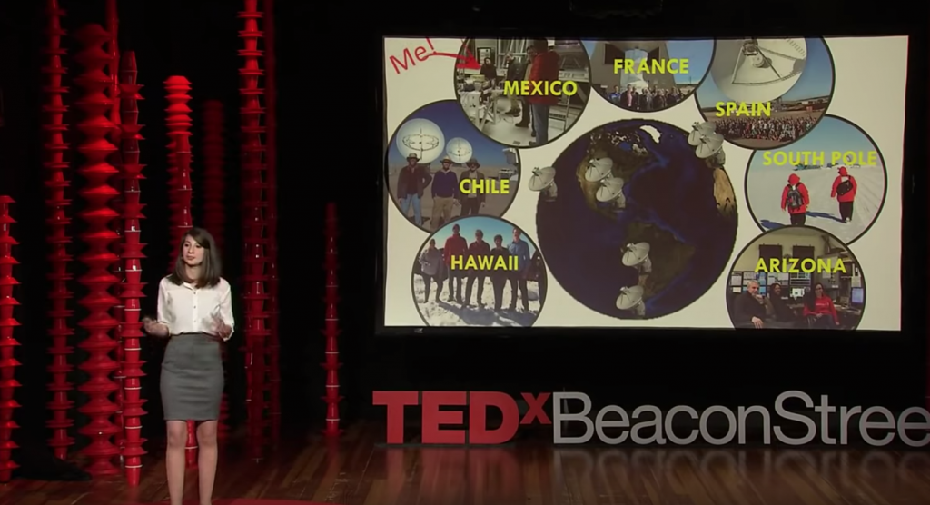 Katie Bouman, Ted Talk, radiotelescopi