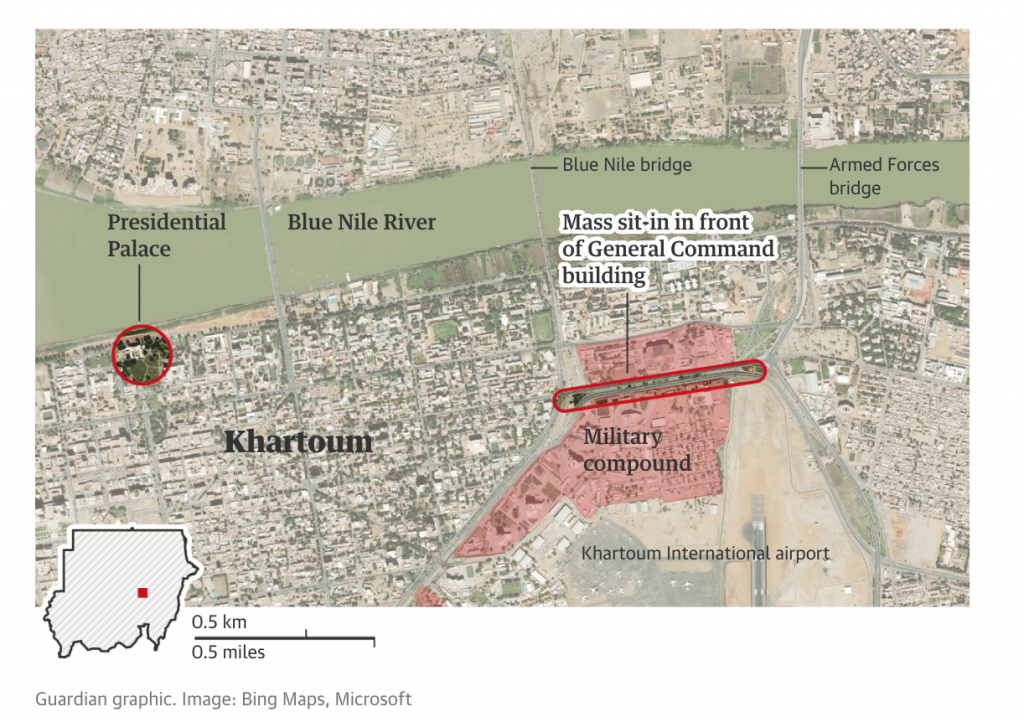 Khartoum, Sudan, proteste, esercito