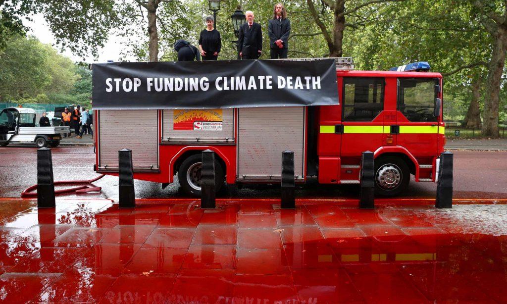 Extinction Rebellion, cambiamento climatico, Londra, Regno Unito