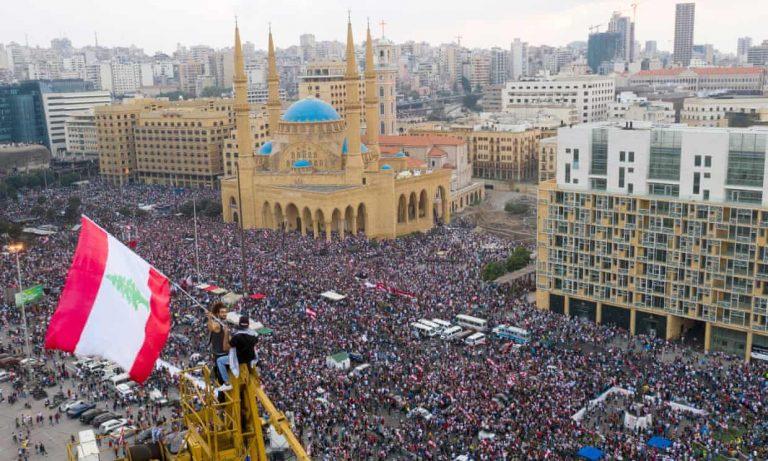 Libano, proteste
