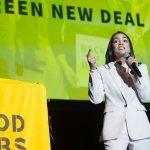 green new deal, alexandria ocasio-ortez, cambiamento clima, usa, trump