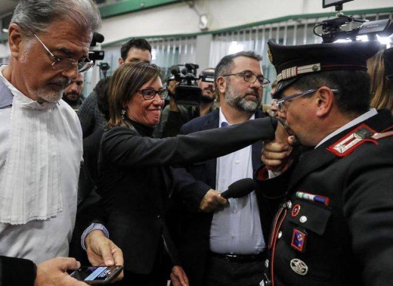 Stefano Cucchi, condanna, polizia, percosse, Matteo Salvini, Carlo Giovanardi, Roma