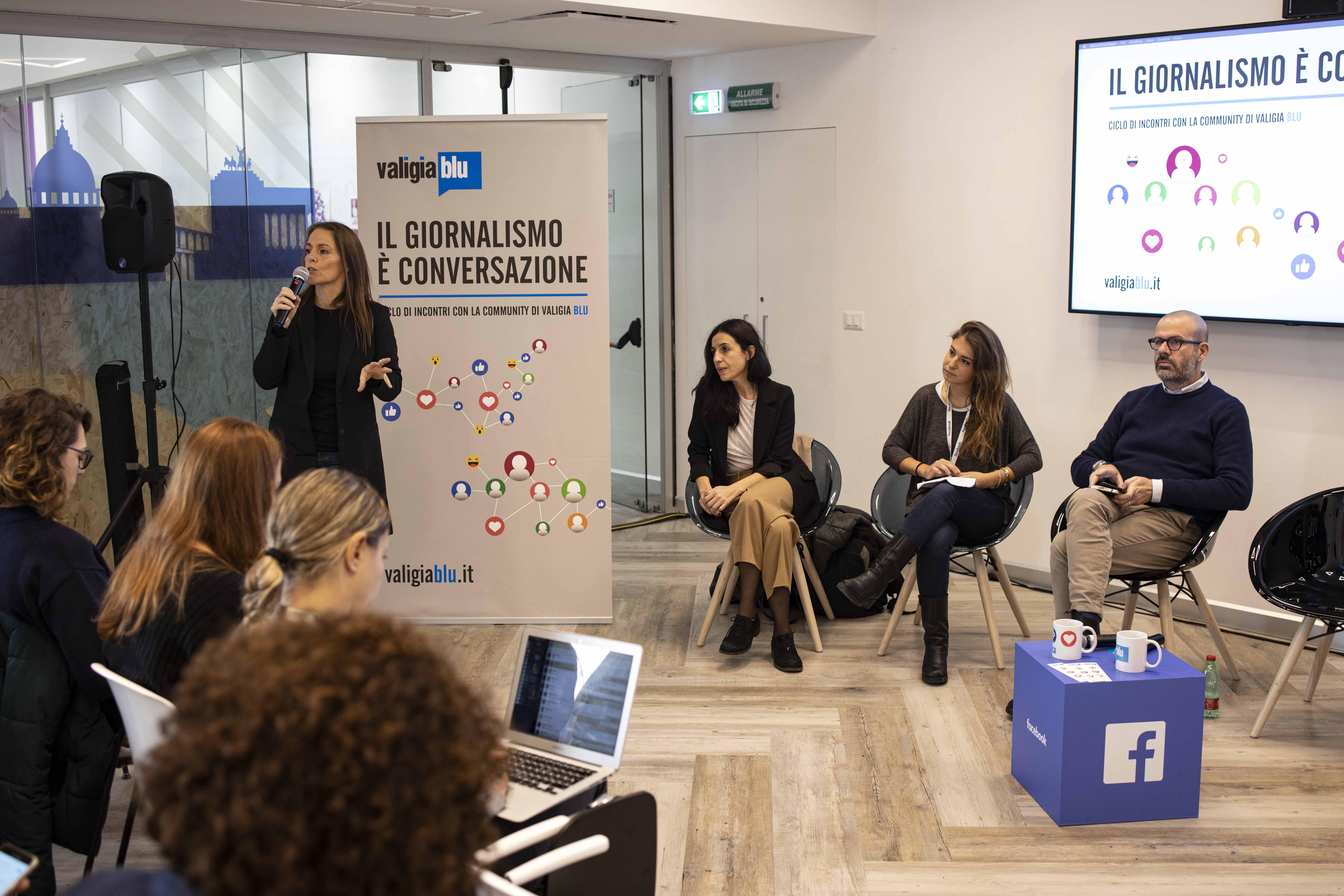 Nello Scavo, Francesca Mannocchi, Arianna Ciccone, Valigia Blu, Roma, migranti, binario F, Facebook